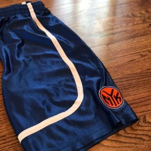 Adidas - Knicks basketball shorts sz 10/12